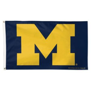 University of Michigan School Flag